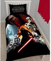 Star wars Awaken - Dekbedovertrek - Eenpersoons - 140 x 200 cm - Multi