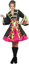Circus Kostuum | Vrolijke Oosterse Jas Circus Vrouw | Maat 36 | Carnaval kostuum | Verkleedkleding