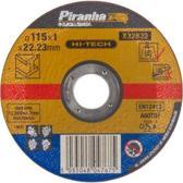 Piranha Doorslijpschijf metaal, 1,0 mm. x 115mm X32632