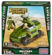 Mega Bloks Adventure Force Military APC tankwagen