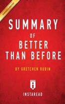 Summary of Better Than Before