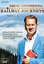 Great Continental Railway Journeys serie 1-5 Complete - IMPORT