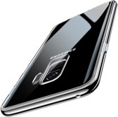 Samsung Galaxy S9+ / S9 PLUShoesje met Tempered Glass achterkant bescherming - ESR - Transparant - Hues Mimic