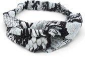 Haarband met Slangenprint - Hoofdband - Grijs - Musthaves