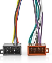 Kenwood 16-Pin ISO Cable   Radio connector - 2x Car connector   0.15 m   Multi-Colour