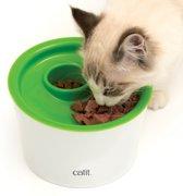 Cat-It Senses 2.0 Multi Feeder - Wit/Groen - Voerbak - Ø 19 cm