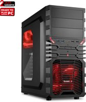 AMD Ryzen 3 2200G Budget Game Computer / Gaming PC LSE2200 - RX Vega 8 - 8GB DDR4 2666 RAM + 1TB HDD - Windows 10