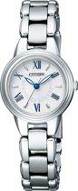 Citizen EX2030-67A  - Horloge - Titanium - Zilverkleurig - Ø 23 mm