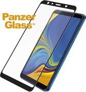 PanzerGlass Premium Screenprotector voor Samsung Galaxy A7 (2018) - Zwart