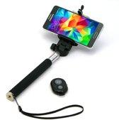 Bullit RHD888 Selfie stick met afstandsbediening - Zwart - Bluetooth