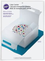 Wilton Durable Cake Carrier Clear