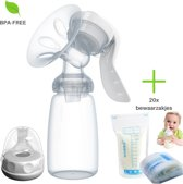 Borst Kolf - Handmatige Borstvoeding Kolf - 150 ml - Borstvoeding - Moedermelk - Babyvoeding - Kolf - Kolven