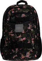 O'Neill Rugzak Bm boarder backpack - Black Aop W/ Yellow - One Size