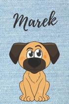 Marek Notizbuch Hunde / Malbuch / Tagebuch / Journal / DIN A5 / Geschenk: individuelles personalisiertes blanko Jungen & M�nner Namen Notizbuch, ... W