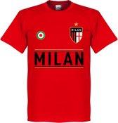 AC Milan Team T-Shirt - Rood - XXXXL