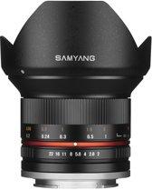 Samyang 12mm - F2.0 Ncs Cs - Prime lens - Geschikt voor Sony Systeemcamera's