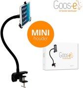 Goos-e flexibele iPad / tablethouder Startpakket MINI (tafelklem) - Zwart