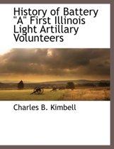 History of Battery a First Illinois Light Artillary Volunteers