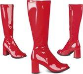 Laarzen Retro - rood - maat 41