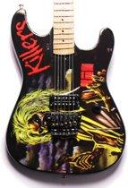 Miniatuur gitaar Iron Maiden - Tribute