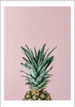 Pineapplecrown 2 (29,7x42cm) - Tropisch - Poster - Print - Wallified
