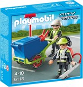 Playmobil Team Stadsreinigers 6113
