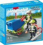 Playmobil Team stadsreinigers - 6113