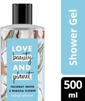 Love Beauty and Planet Douchegel Radical Refresher - 500 ml - Coconut Water & Mimosa Flower