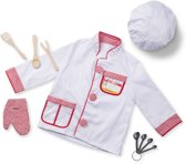 Melissa & Doug - Chef-Kok - verkleedkleding - 3-6 jaar
