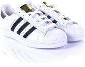 Adidas Meisjes Sneakers Superstar J - Wit - Maat 35,5