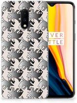 OnePlus 7 TPU Hoesje Salamander Grey