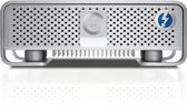 G-Technology G-Drive Thunderbolt - Externe harde schijf - 4TB - Zilver
