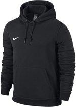Nike Team Club Hooded  Sporttrui - Maat 140  - Unisex - zwart