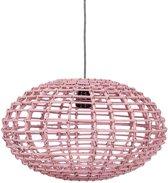 Kidsdepot hanglamp Pumpkin rotan Pink