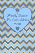 Weekly Planner For Busy Moms 2020