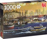 De haven van San Francisco Premium Quality - Puzzel 1000 stukjes