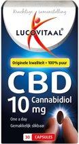 Lucovitaal - CBD 10 milligram Cannabidiol - 30 Capsules - Voedingssupplement