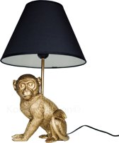 Tafellamp Aap (Goud)