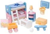 Le Toy Van Poppenhuismeubels Sugar Plum Kinderkamer - Hout