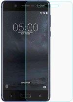 Shop4 - Nokia 5 Glazen Screenprotector - Gehard Glas Transparant