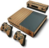 Wood Brown - Xbox One Console Skins Stickers