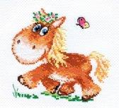 Borduurpakket Paard - Alisa