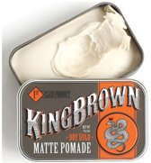 King Brown Pomade Matte Square Tin