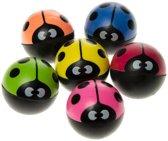 Stuiterballen Lieveheersbeestje 30 stuks - diameter 36 mm