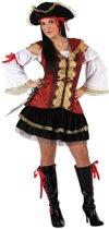 Verkleedkleding voor volwassenen - Pirate rood