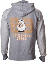 Star Wars - Hoodie Grey BB-8 Astromech Droid - 2XL