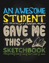 An Awesome Student Gave Me This Sketchbook