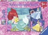 Ravensburger Disney Princess Avonturen van de prinsessen Drie puzzels van 49 stukjes