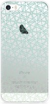 iPhone 5/5S/SE Hoesje Triangles
