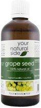 Your Natural Side Grape Seed Oil, Refined 100ml. Cap